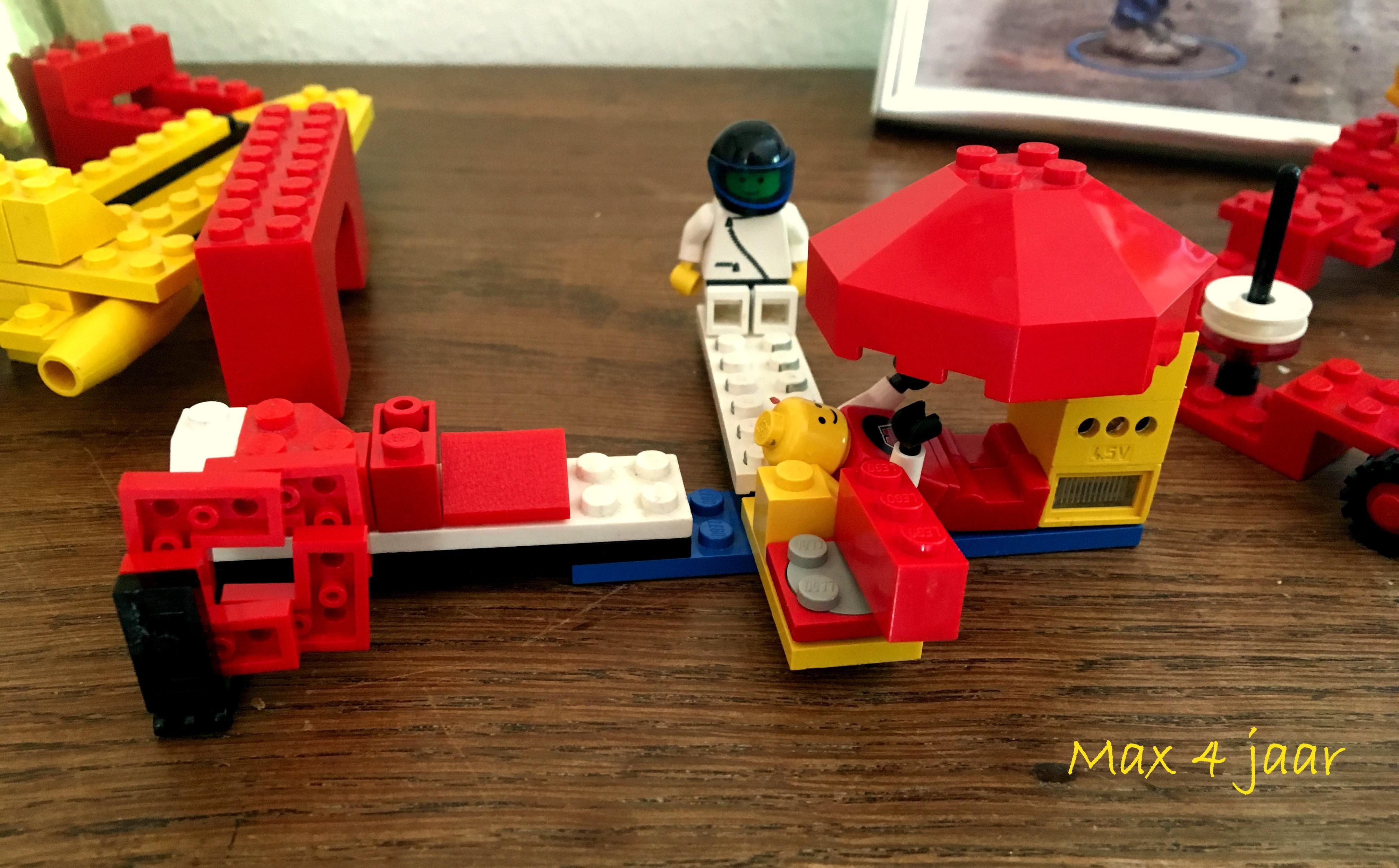 Lego van Max